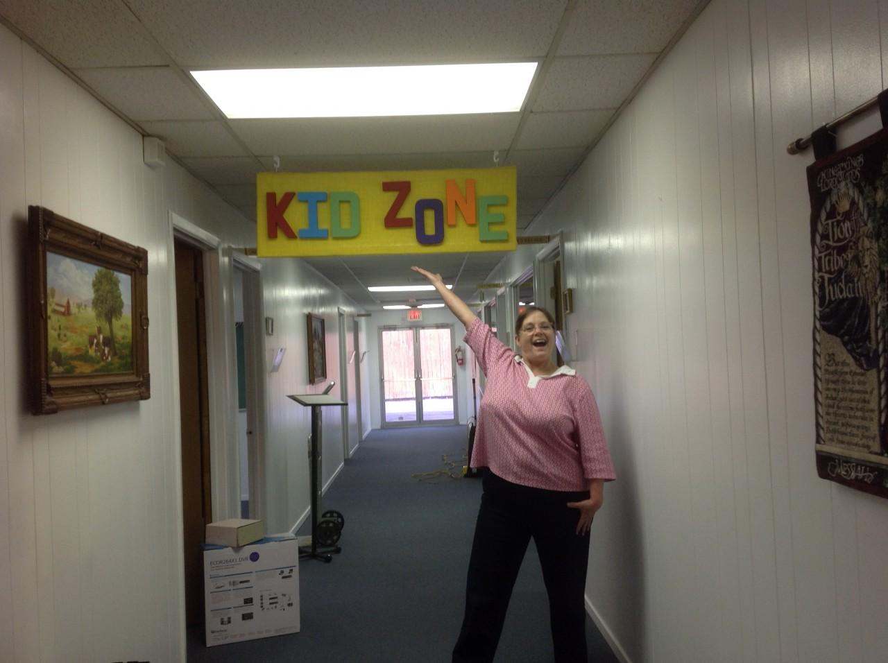 Kid Zone Improvements